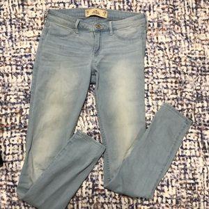Hollister Light Washed Jeans Legging 👖